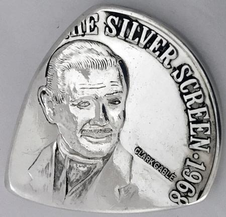 1968 Clark Gable 1 oz silver 1