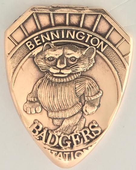 Bennington Badgers 4th Place 400M 1