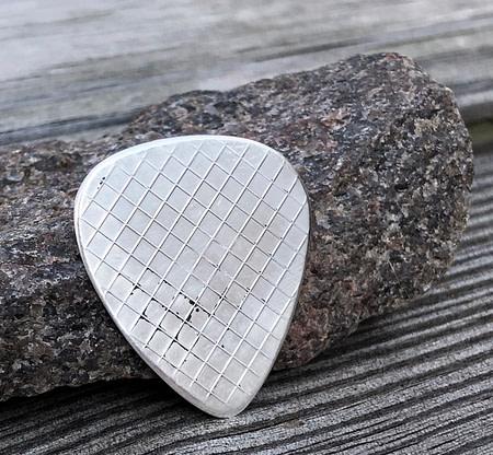 US Navy Seal 999% Silver 2 Coin Guitar Pick, Coin Guitar Picks
