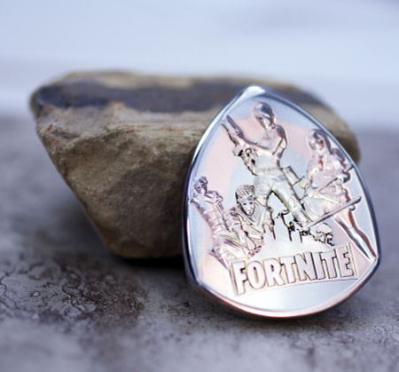 Fortnite Token Coin Guitar Pick, Coin Guitar Picks